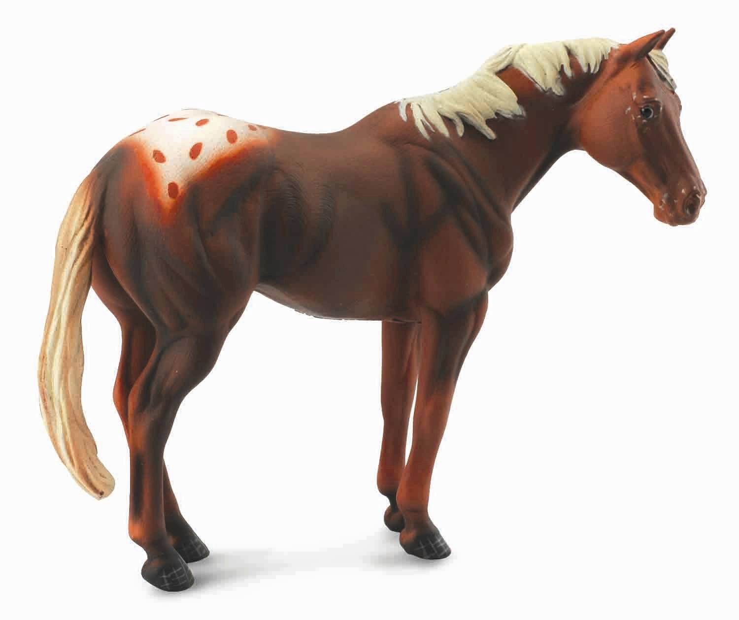 Breyer by CollectA Chestnut Appaloosa Stallion