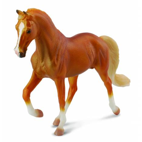 Breyer by CollectA Tennessee Walking Horse Stallion Golden Palomino