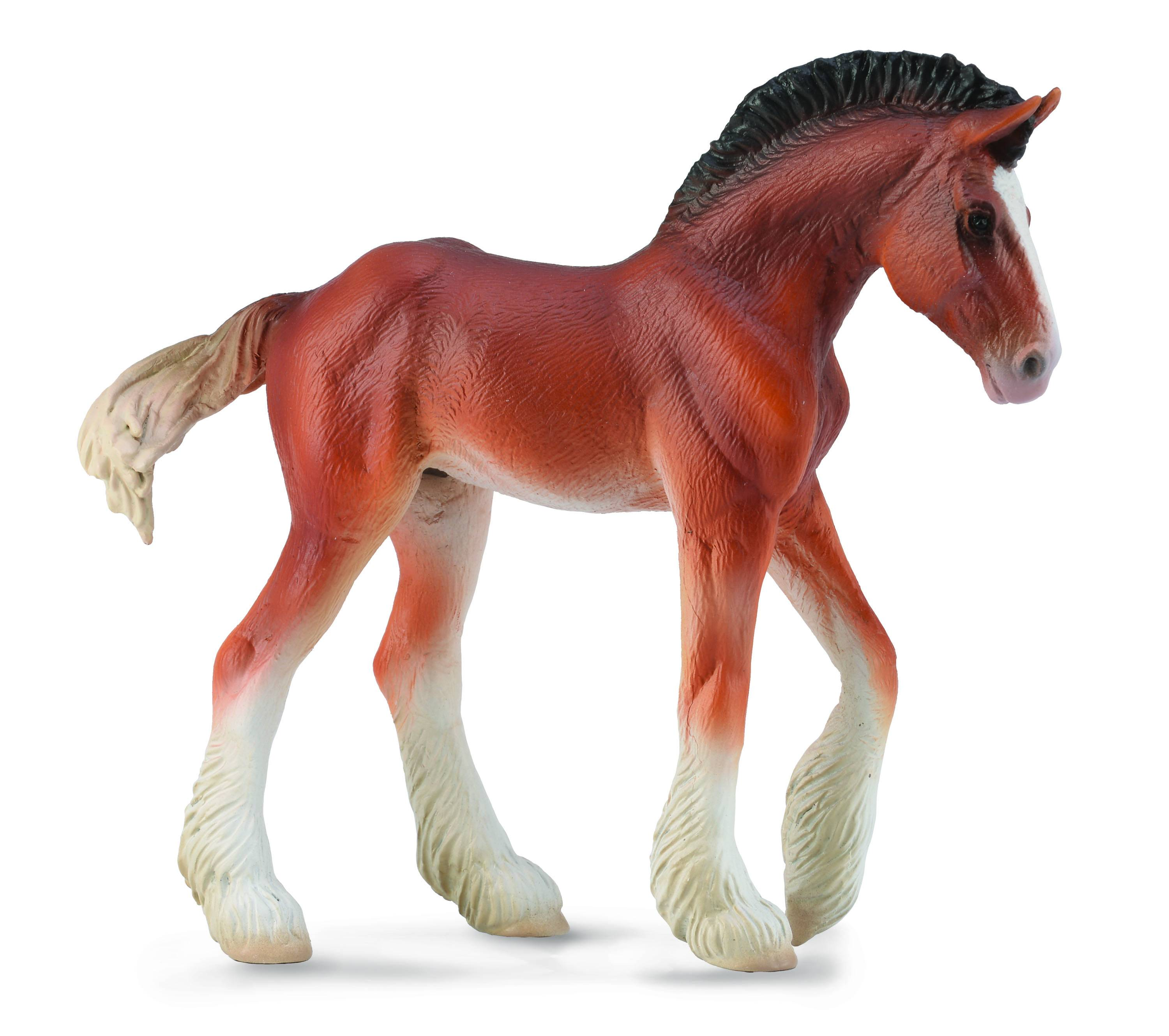 Breyer by CollectA Clydesdale Foal Bay