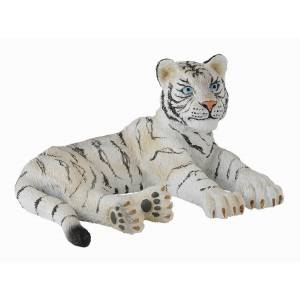 Breyer by CollectA White Tiger Cub (Lying)