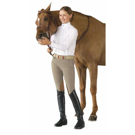 Ovation Girl's Euroseat Side-Zip Jods