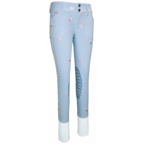 Equine Couture Stripe Whales Kids Breeches