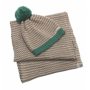 Horseware Bobble Hat & Scarf Set - Ladies
