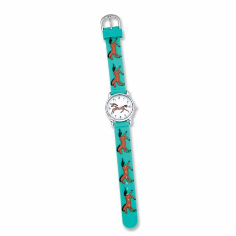Aqua Watch With Bay Horse