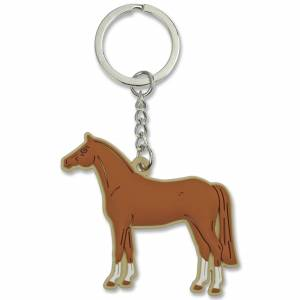 Brown Horse Soft Keychain