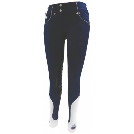 Equine Couture Darsy Knee Patch Breeches -Ladies