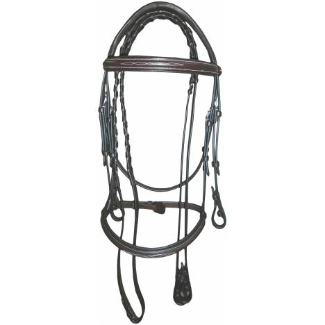 Henri de Rivel Pro Mono Crown Fancy Padded Bridle