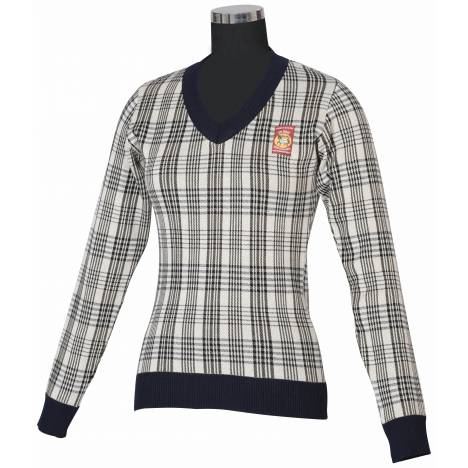 Baker Plaid Sweater - Ladies