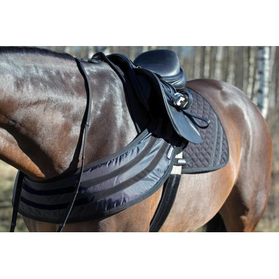 Horze Supreme Dark Reflective Safety Grand Prix