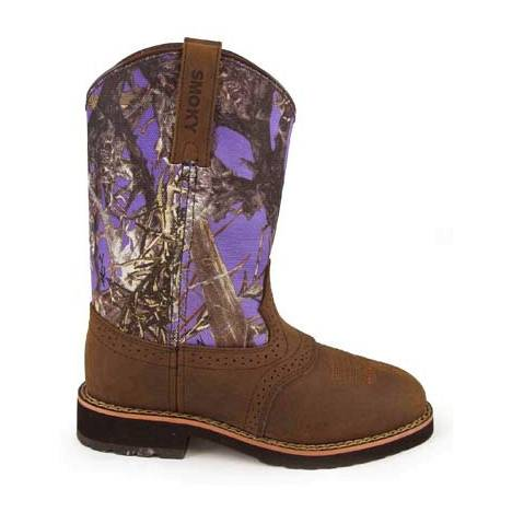 Smoky Mountain Childs Colby Boots - Purple