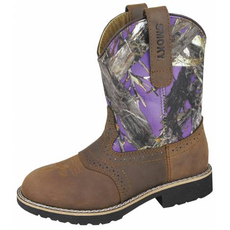 Smoky Mountain Youth Colby Boots - Purple