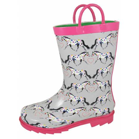 Smoky Mountain Kids Horseplay Rubber Boots