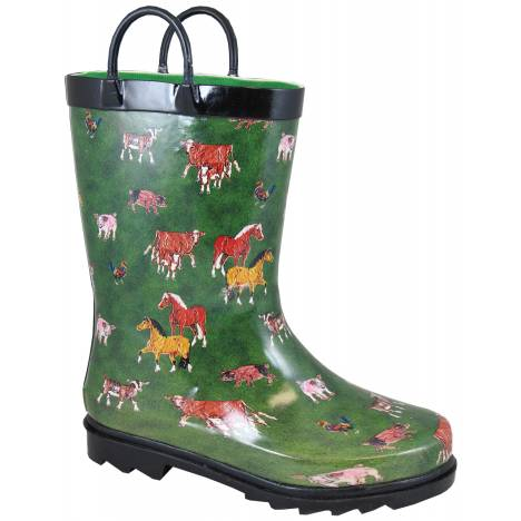 Smoky Mountain Toddler Round Up Rubber Boots