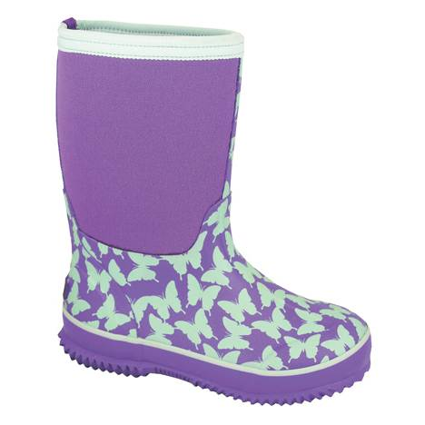 Smoky Mountain Kids Butterfly Amphibian Boots - Light Green