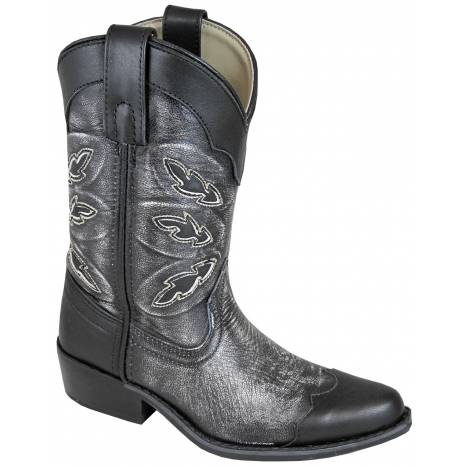 Smoky Mountain Childs Preston Leather Snip Toe Boots