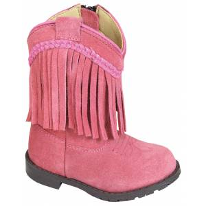 Smoky Mountain Toddler Hopalong Fringe Zip Boots
