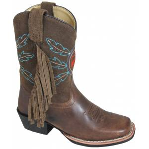Smoky Mountain Youth Thunderbird Suede Fringe Boot