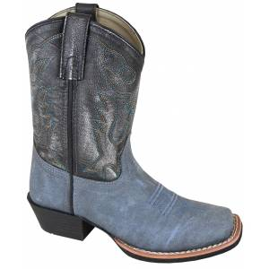 Smoky Mountain Youth Gallup Square Toe Boots - Blue
