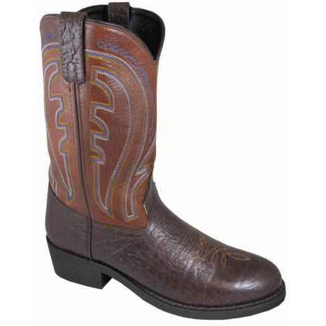 Smoky Mountain Mens Workman Embossed Leather Boot