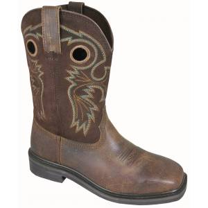 Smoky Mountain Mens Grizzly Square Toe Boots