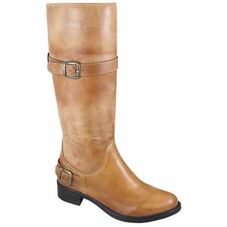 Smoky Mountain Womens Donna Leather Tall Boot -Tan