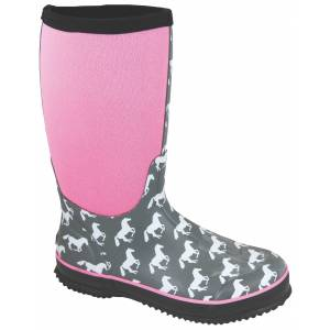 Smoky Mountain Ladies Horses Amphibian Boots