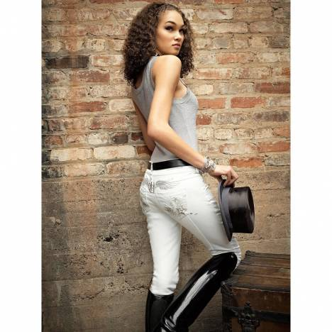 2kGrey Ladies Avatar Full Seat Breeches