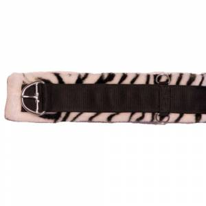 Western Zebra Fleece Girth