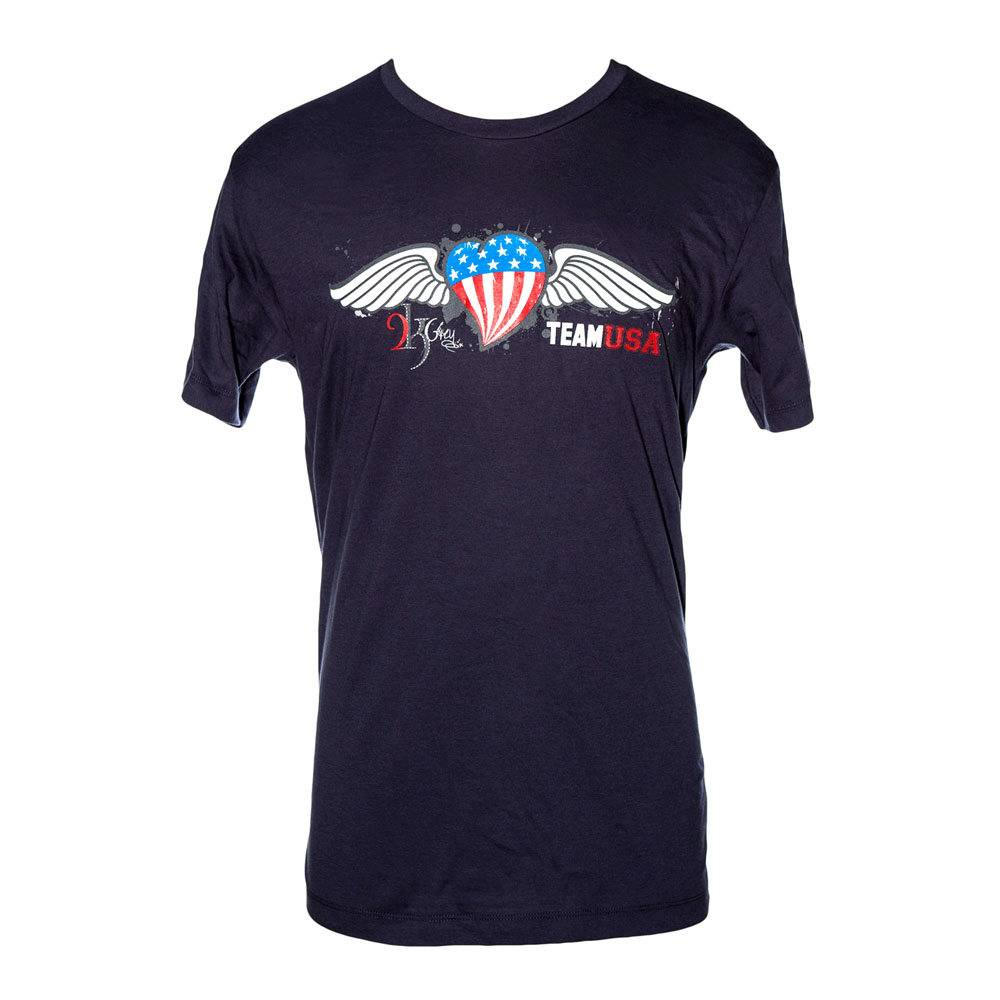 2kGrey Ladies Team USA Tee Shirt