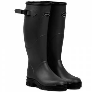 Gumleaf Ladies Black Norse Welly Boots