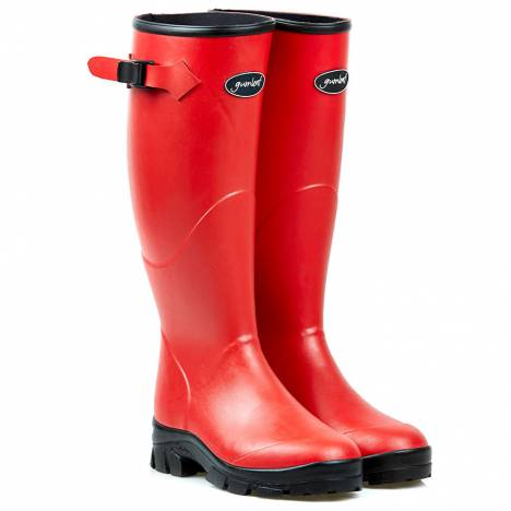Gumleaf Ladies Red Norse Welly Boots