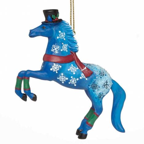 The Trail Of Painted Ponies Jack Frost Ornament