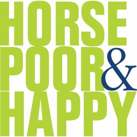 Horse Poor And Happy Tee Shirt