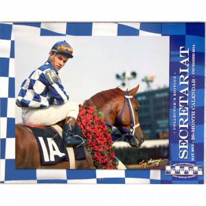Secretariat 40th Anniversary Triple Crown Calendar