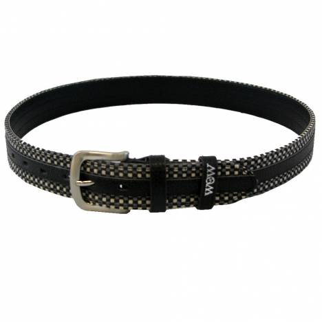 WOW Woven Black with Grey Belt