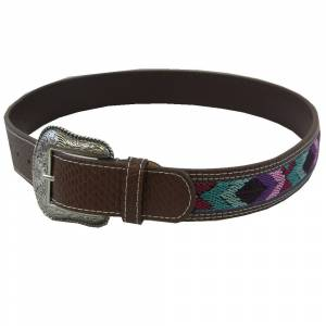 WOW Woven Multi Color Belt