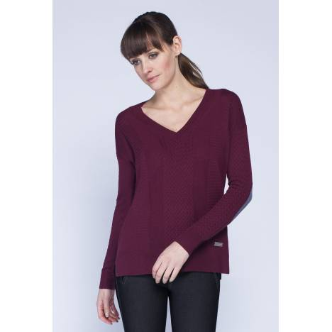 Asmar Cashmere V-Neck Sweater - Ladies