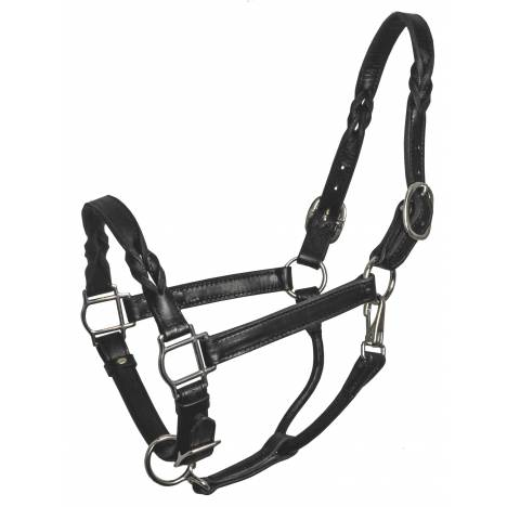 Perri's Twisted Leather Halter
