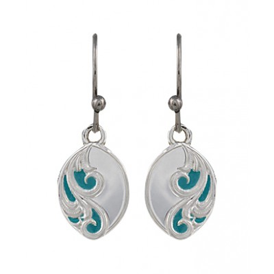Montana Silversmiths A Spring's Breeze Earrings