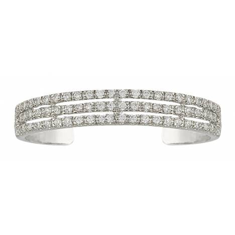 Montana Silversmiths Triple the Delight Cuff Bracelet