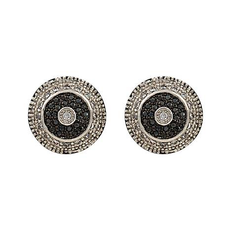 Montana Silversmiths Evening Bull's Eye Earring