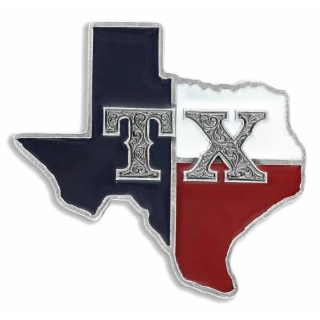 Montana Silversmiths State of Texas Attitude Buckle
