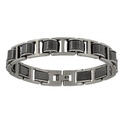 Montana Silversmiths Stainless Steel Linked Bracelet