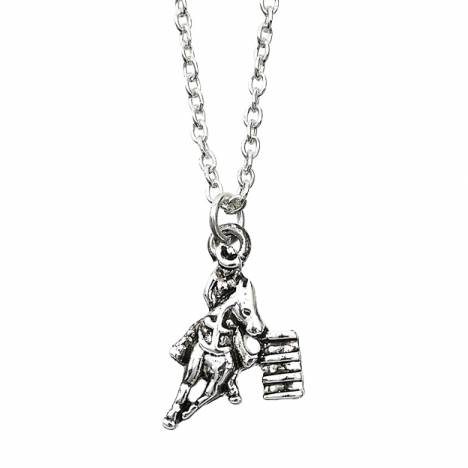 Ladies Barrel Racer Necklace