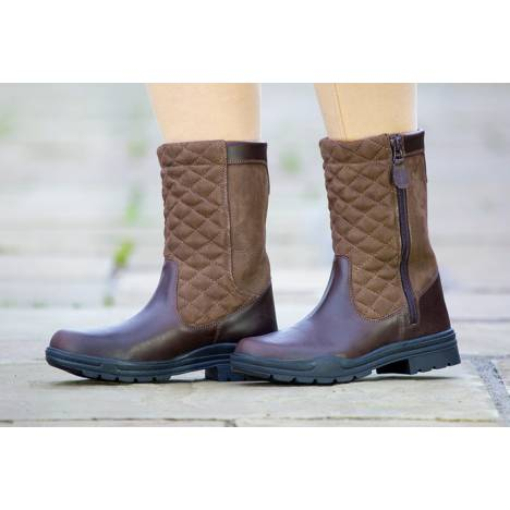 Shires Broxwood Short Leather Boots - Ladies