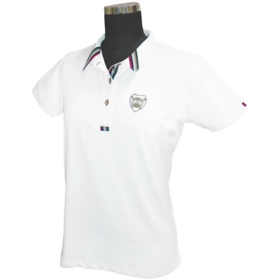 Equine Couture Ladies Brinley Short Sleeve Polo Shirt