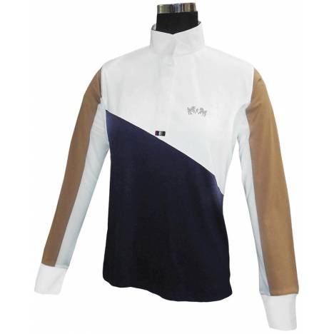 Equine Couture Ladies Sawyer Long Sleeve Show Shirt