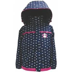 Equine Couture Girls Delia Rain Shell Jacket