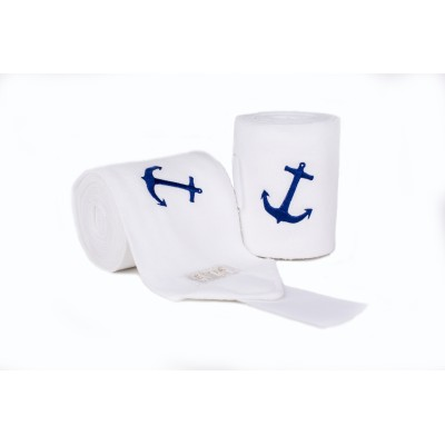 Lettia Embroidered Anchor Polo Wraps