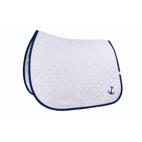 Lettia Embroidered Baby Pad - Anchor